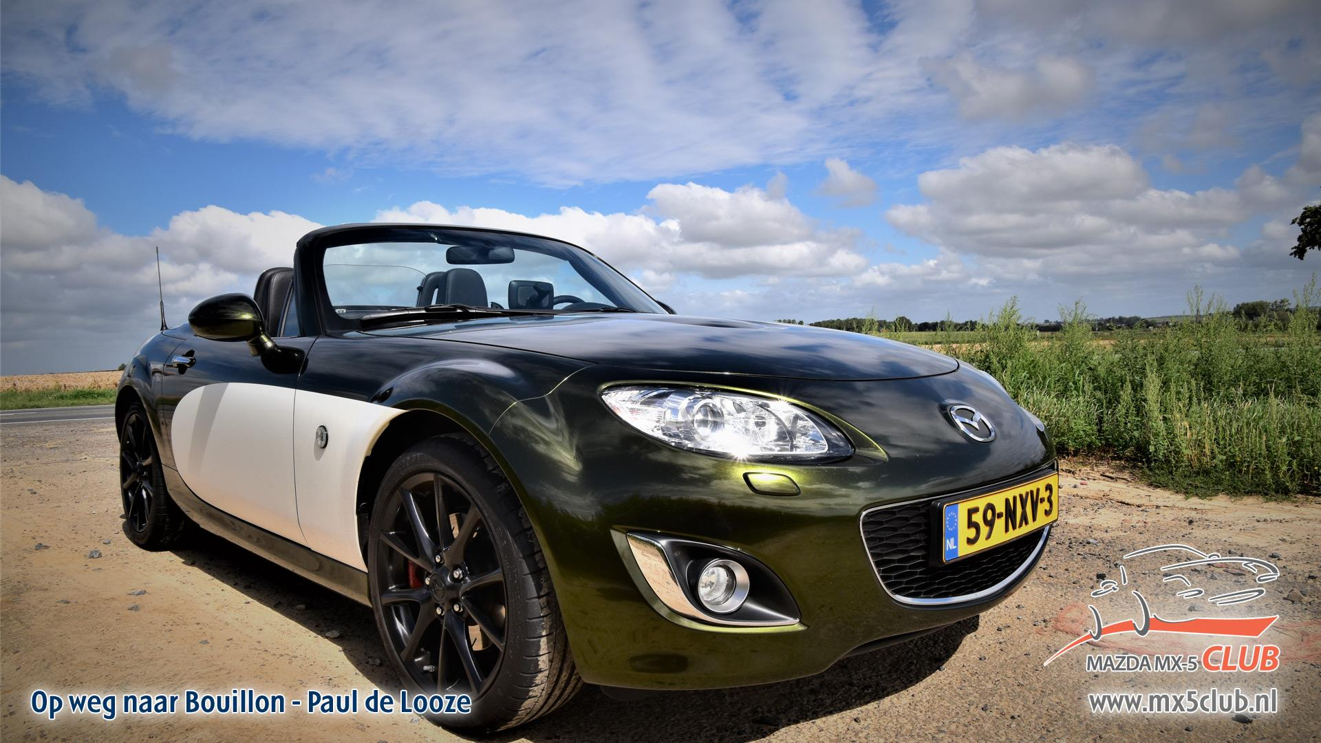 Wallpaper wedstrijd - Paul de Looze | Mazda MX-5 Club Nederland
